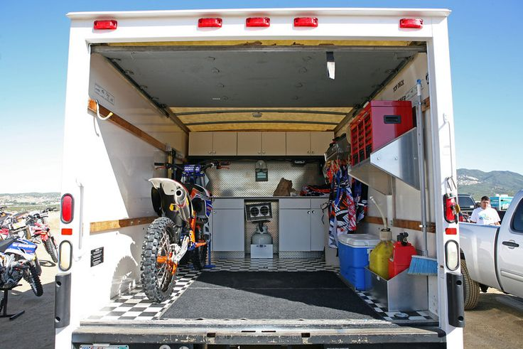 Box Van for sale SoCal Old Timers Mx Enclosed trailer