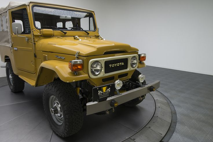 1982 Toyota Land Cruiser FJ43 Yellow For Sale