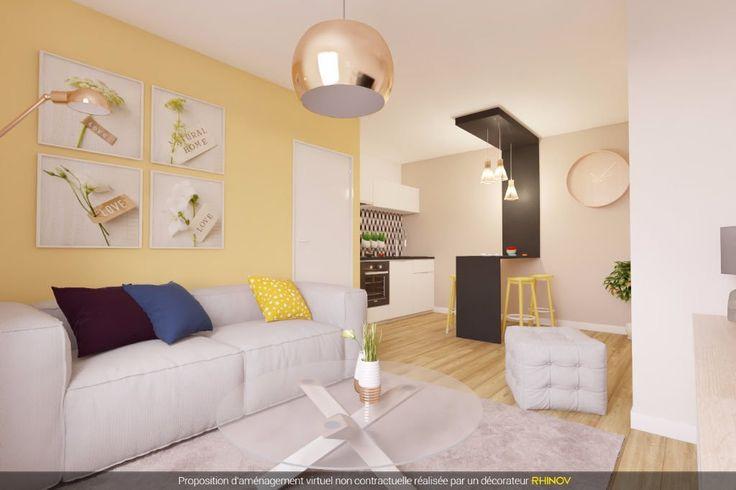 Appartement, 31.94 m² T-2 à acheter à Lyon 6 pour 207000 € avec ORPI