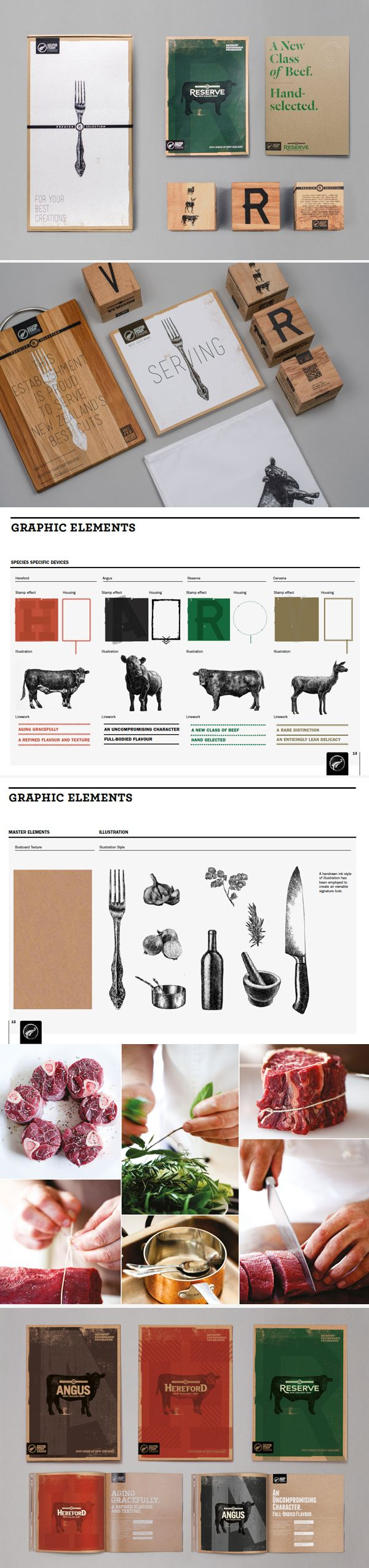 Silver Fern Farms I'm so hungry I could eat a cow #identity #packaging #branding PD