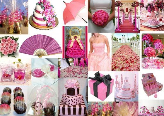 Roze bruiloft