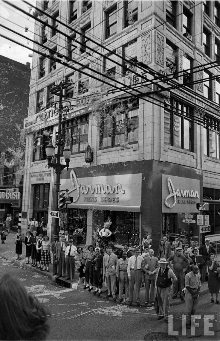 Old Photos Cruising Downtown Kansas City With Ike Photo