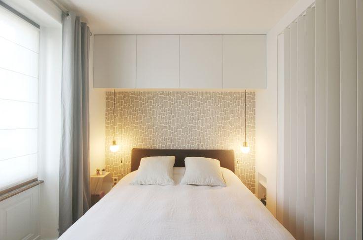 Agencement d'une chambre - Réalisation de l'agence Entre Les Murs - Annecy