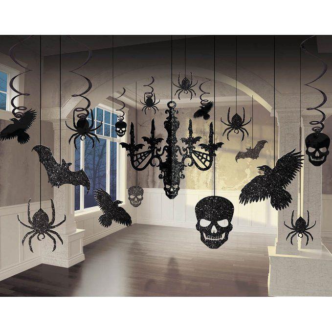 #poundlandhalloween Spooky Halloween Glitter Chandelier Kit