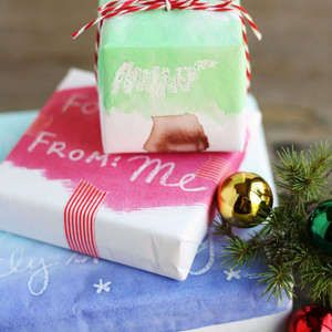DIY Watercolor Wrapping Paper Gift Ideas Pinterest Wrapping
