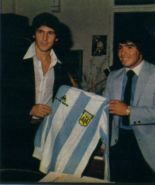 Zico y Maradona