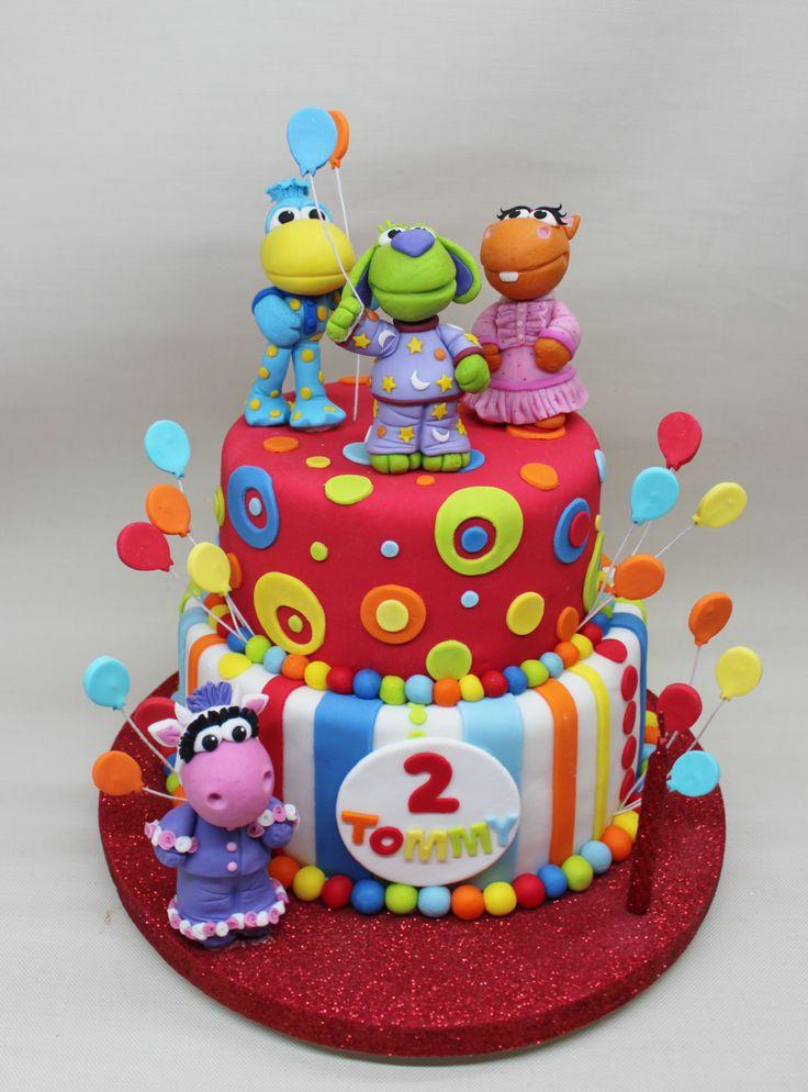Pajanimals Birthday Cake