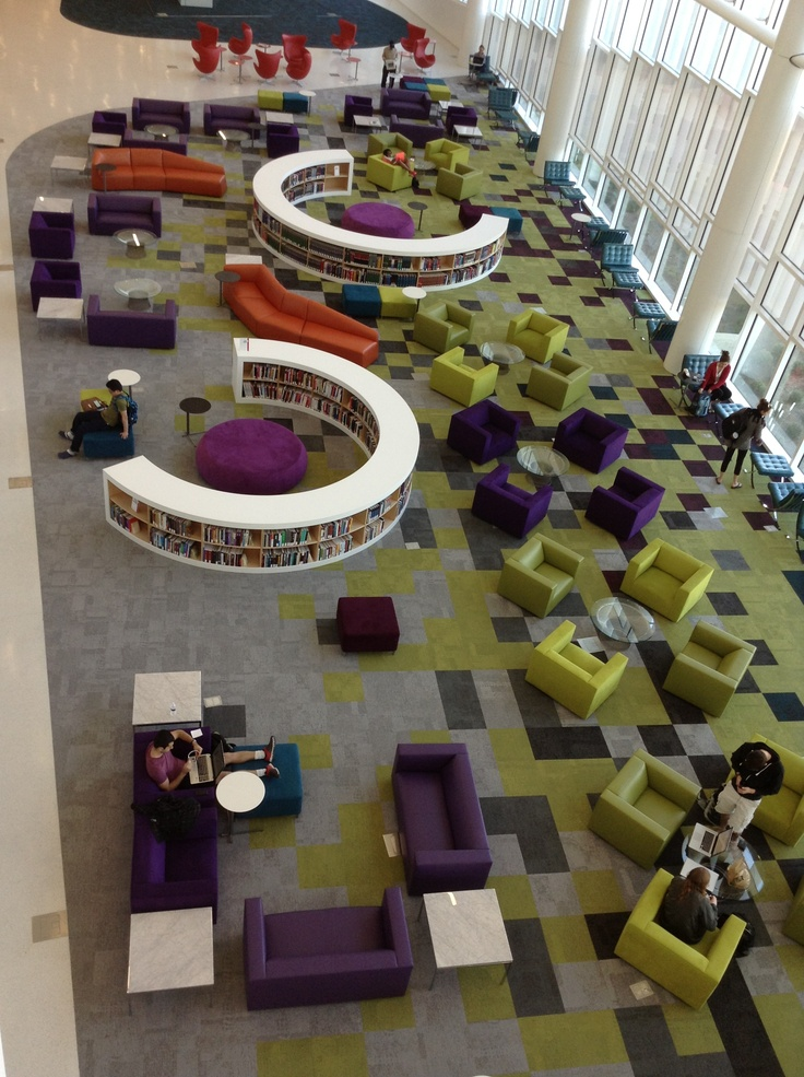 The New Hunt Library At NC State Universityin A Word Amazing