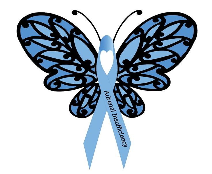 Addison's Disease and Adrenal Insufficiency Awareness – Help us raise awareness of Addison's Disease and Adrenal Insufficiency by sharing Donnee Spencer's brilliant awareness butterfly! | Patient Talk