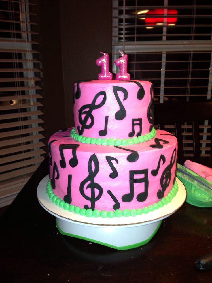 Karaoke Birthday Cake Cakes Pinterest Birthday