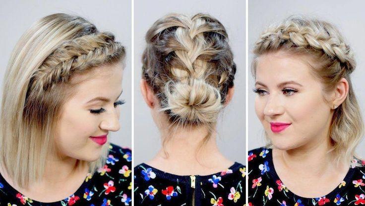teenage hairstyles tutorials Natural Hair #goddessbraids