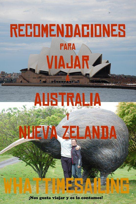 Si vas a viajar a #Australia o #Nueva Zelanda puedes leer nuestras recomendaciones para facilitarte la organización del viaje.  Es una experiencia que no olvidarás.