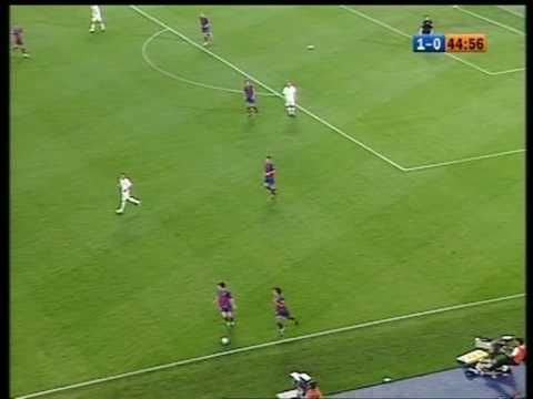 El primer gol de Messi (01/05/2005) - YouTube