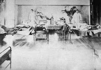 Enfermaria de alienados da terceira classe