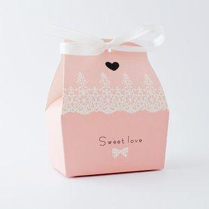 Bröllop, bröllopsdekorationer & barnkalas - My Perfect Day.se - Presentask - Sweet Love - Rosa
