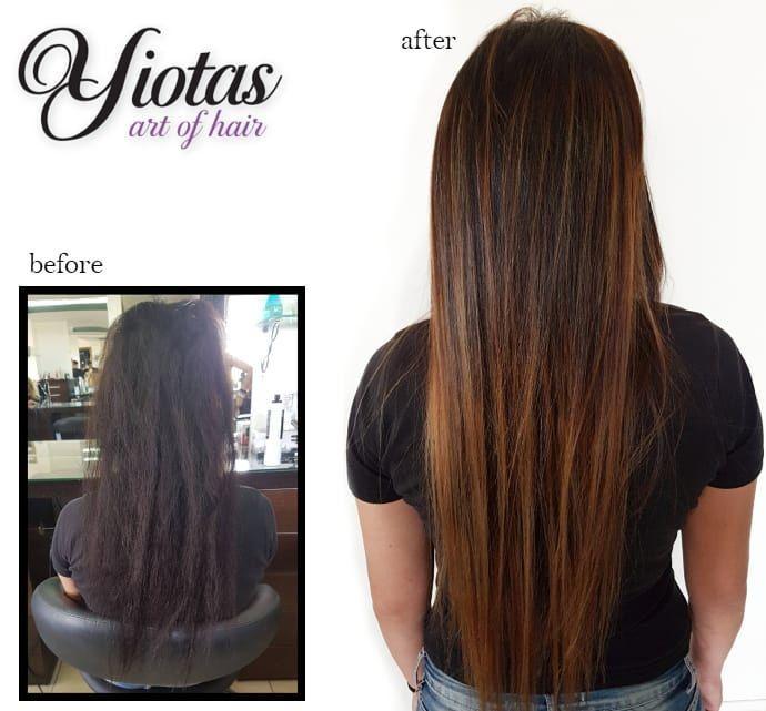 Yiota Art Of Hair Hair Paphos Hair Salon In Pafos Cyprus Hair Salon In Cyprus Cyprus Before After Hair Prin Kai Met Hair Before After Hair Chestnut Hair