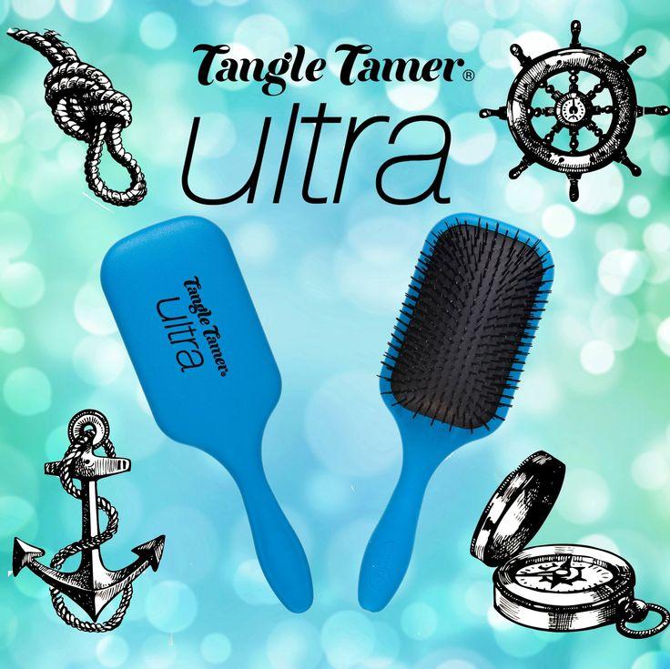 NEW Denman Blue Tangle Tamer Ultra Brush! Perfect to detangle long thick hair!