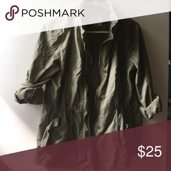 Army jacket Small Full Tilt Jackets & Coats Utility Jackets