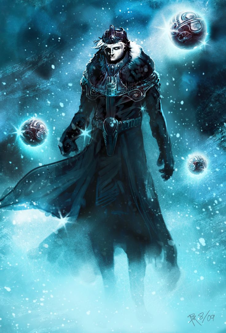 ice mage concept by branflakes magic elementalist