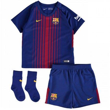 Barcelona Hemmatröja Barn 17-18 Kortärmad  #Billiga #fotbollströjor