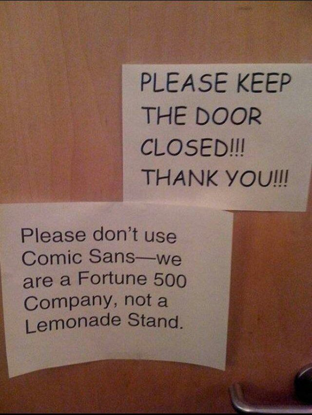 Think Font.