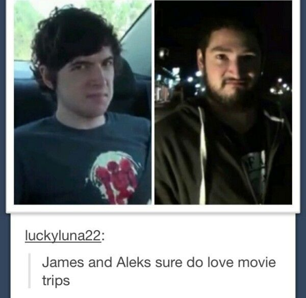 Aleks and James haha they're my favorites