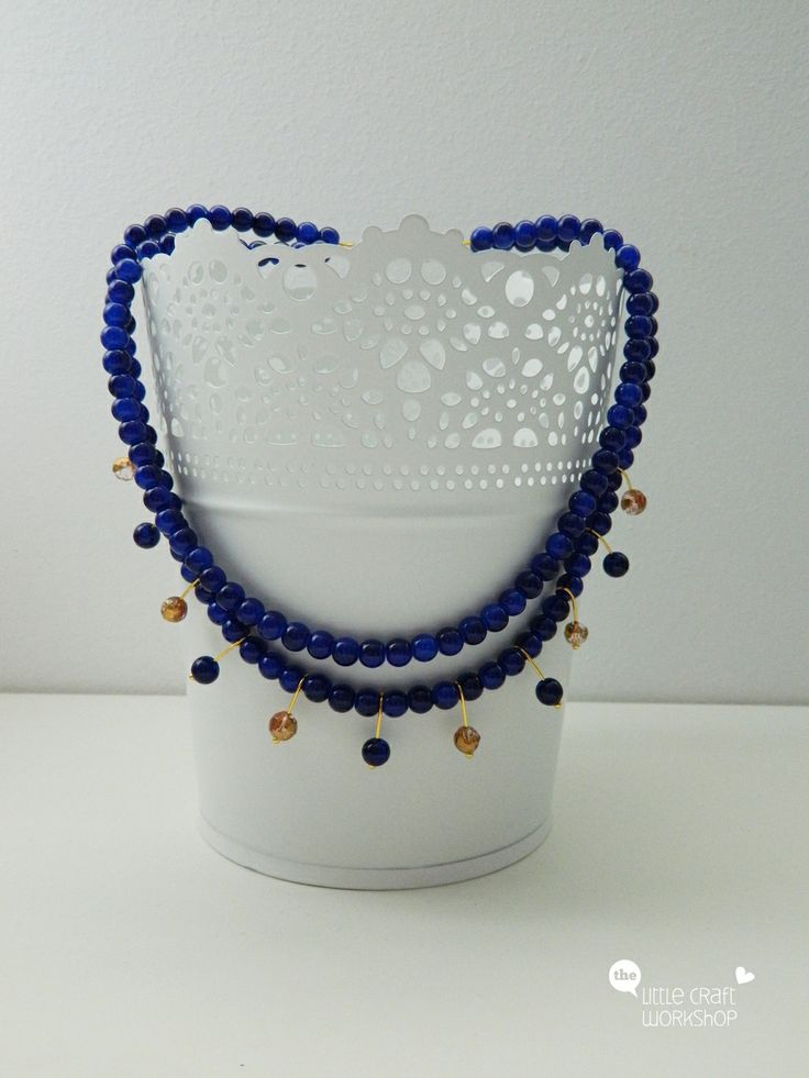 Handmade necklace - beads