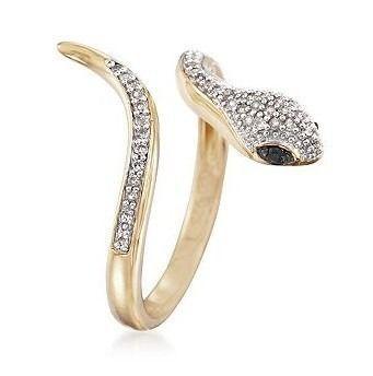 anel cobra em ouro 18 quilate mais diamantes                                                                                                                                                     Mais