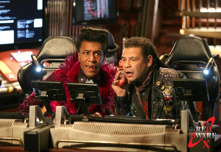 Red Dwarf X – Trojan....this was a funny show!