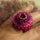 Textil Ring - Einzigartige Ringe aus Textil bei DaWanda online kaufen
