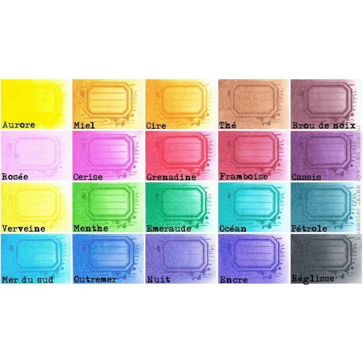 Pad Izink Dye - Encre