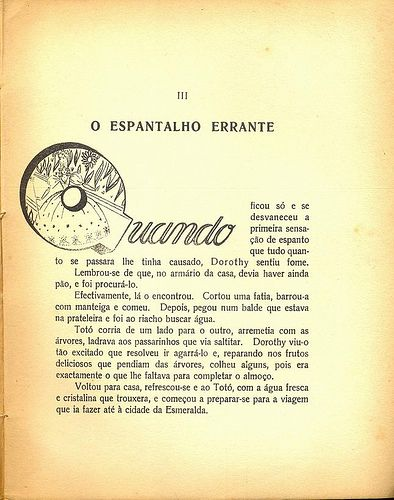Hugo Manuel, O Feiticeiro de Oz, page 19, 1946. Illustration of the good witch from the book The Wizard of Oz.