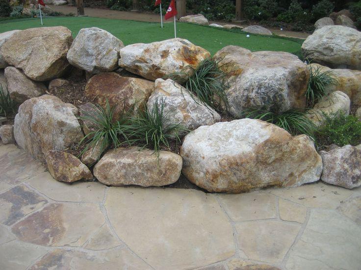 Landscaping Rocks Manteca Ca : Landscape rocks granite bourget building materials landscaping deck
