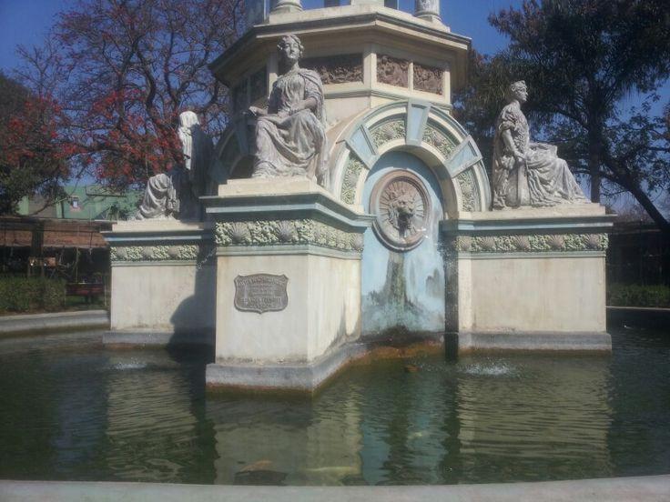 Wish Fountain.in pretoria zoo