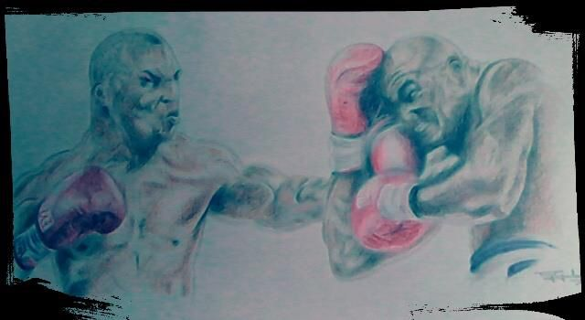 The Fight - Anthony Gordon Art