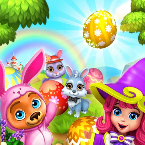 We're all excited for Easter! Planning an Egg Hunt this year? #royalstorygame #royalspring