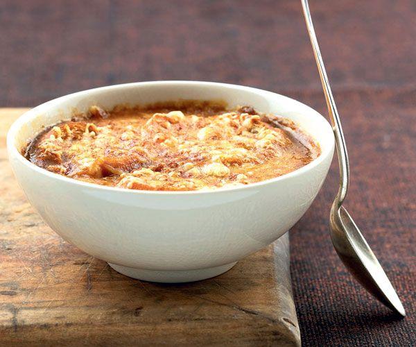 Image de soupe oignon
