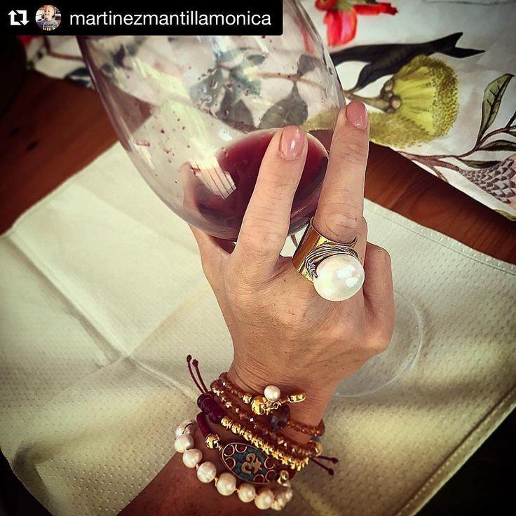 """19 Me gusta, 1 comentarios - Macabeo Joyas (@macabeojoyas) en Instagram: """"#Repost @martinezmantillamonica (@get_repost) ・・・ Feliz con mis regalos.... como siempre…"""""""