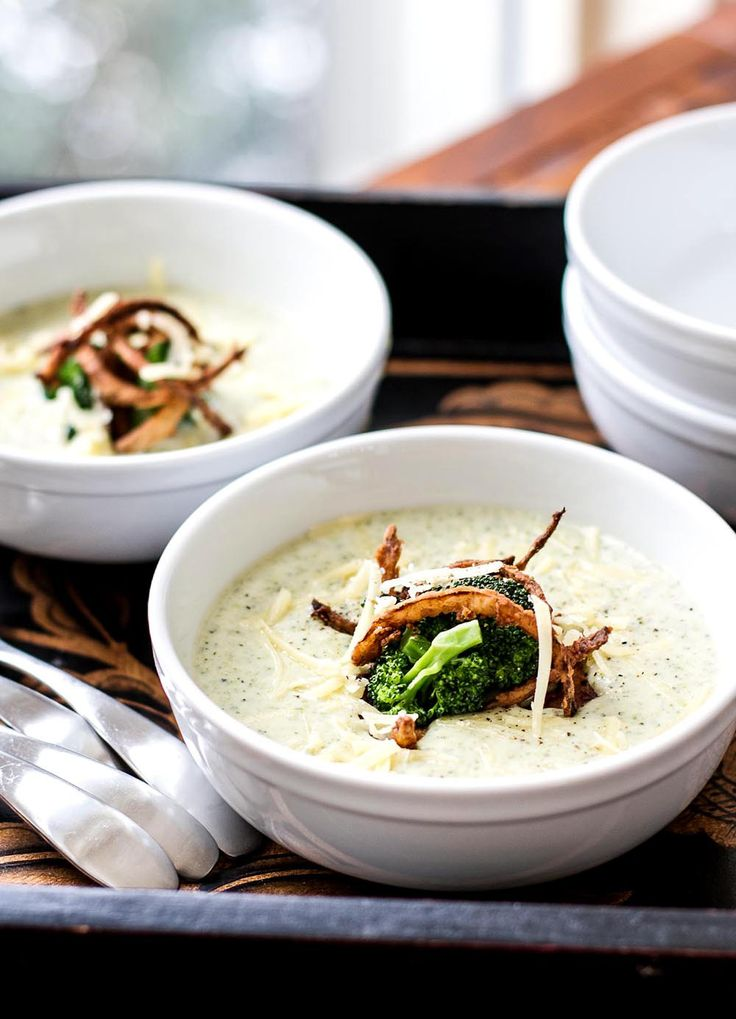 Broccoli Chesse Soup | Girl Gone Gourmet