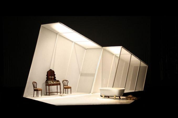 La Serva Padrona. Opera Faber. Set design by Signe Beckmann. 2010