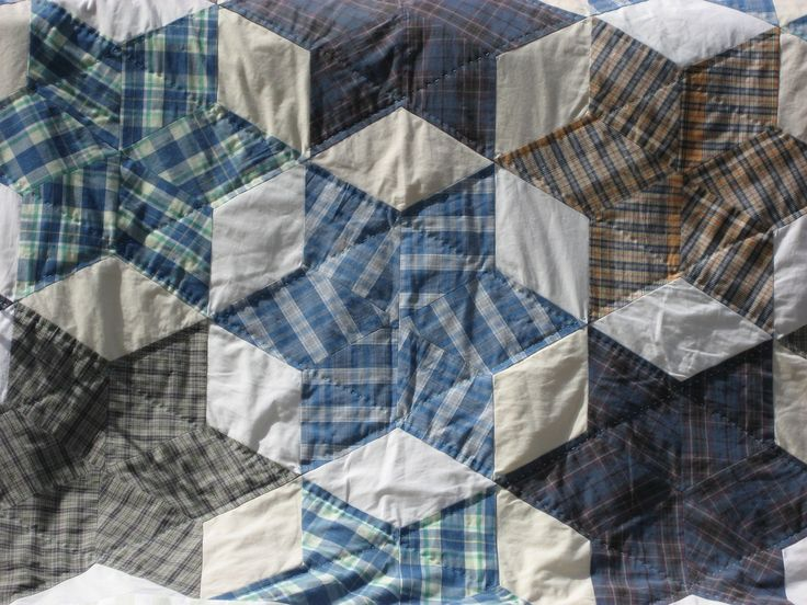 Quilt Patterns From Men S Shirts : 1000+ images about MEN S SHIRT QUILTS on Pinterest Stripes, Shirt quilts and Plaid quilt