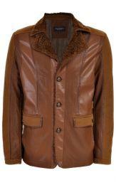 Chamarra Bruno Magnani, Tipo Piel #Chamarra #Hombre #Estilo #Moda #Sears