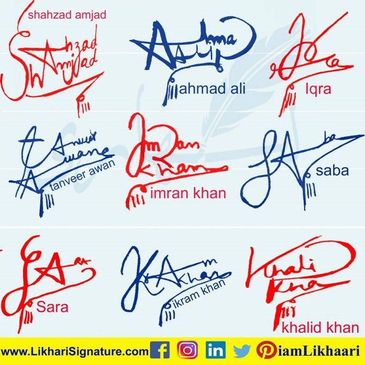 Name Signature Maker Online in 2020 Signature maker