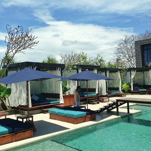 Mozaic Beach Club is a French Restaurant in Bali, Indonesia popular with Tourists