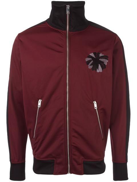 DIESEL star patch zip up cardigan. #diesel #cloth #cardigan