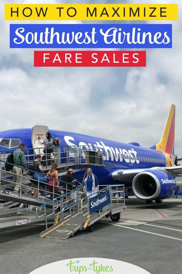 How To Make The Most Of A Southwest Fare Sale Family Travel
