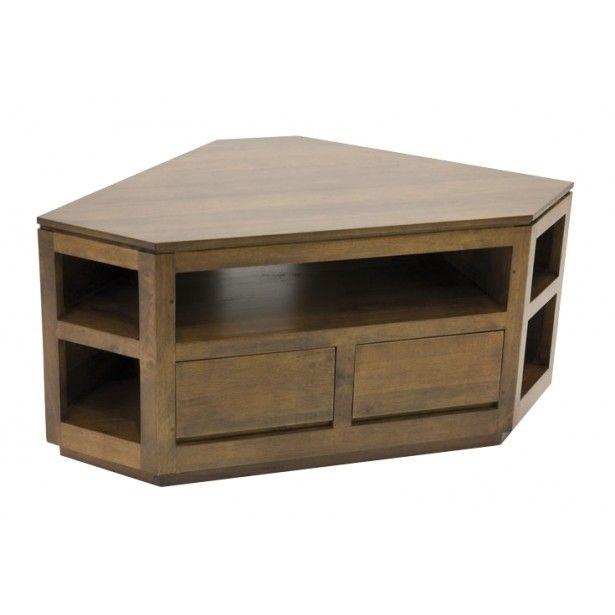 Les 25 meilleures id es concernant meuble tv angle sur for Le meuble villageois furniture