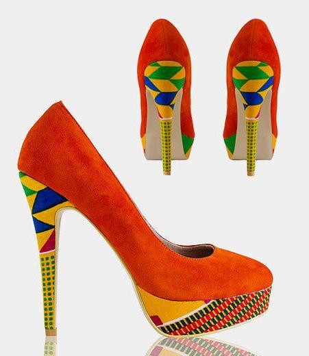 zapato naranja ankara