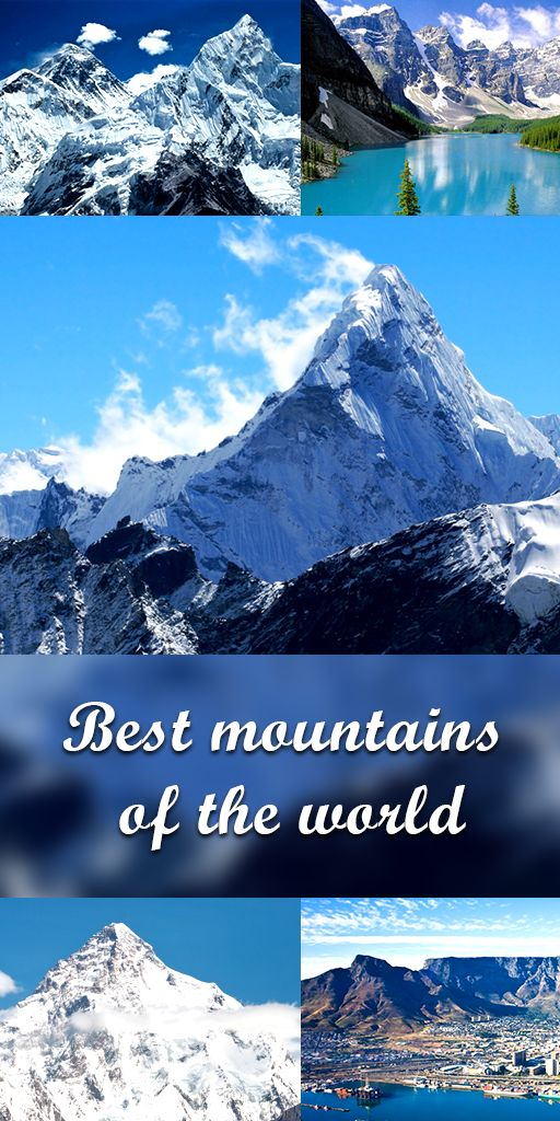 Best mountains of the world. https://www.dwtltd.com/blog/2016/04/06/best-mountains-of-the-world
