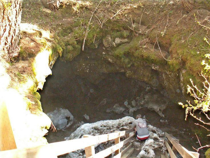 Ice Caves, Trout Lake WA